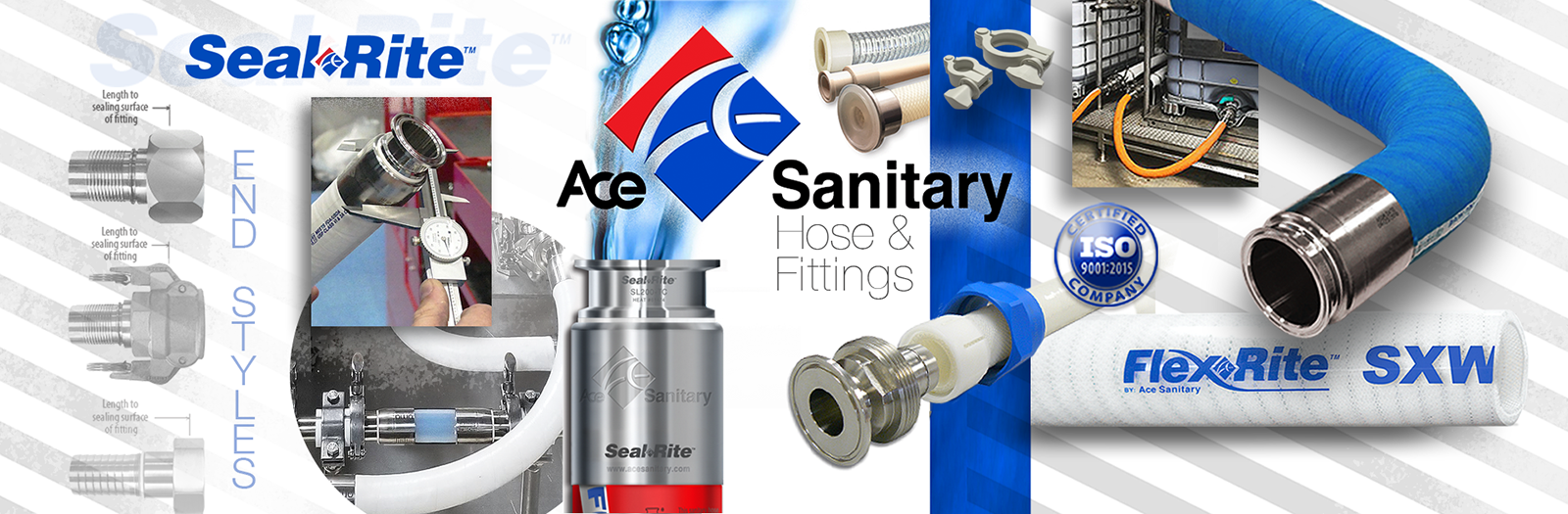 Ace Sanitary | Sanitary Hose - Fittings - Accessories - Equipment