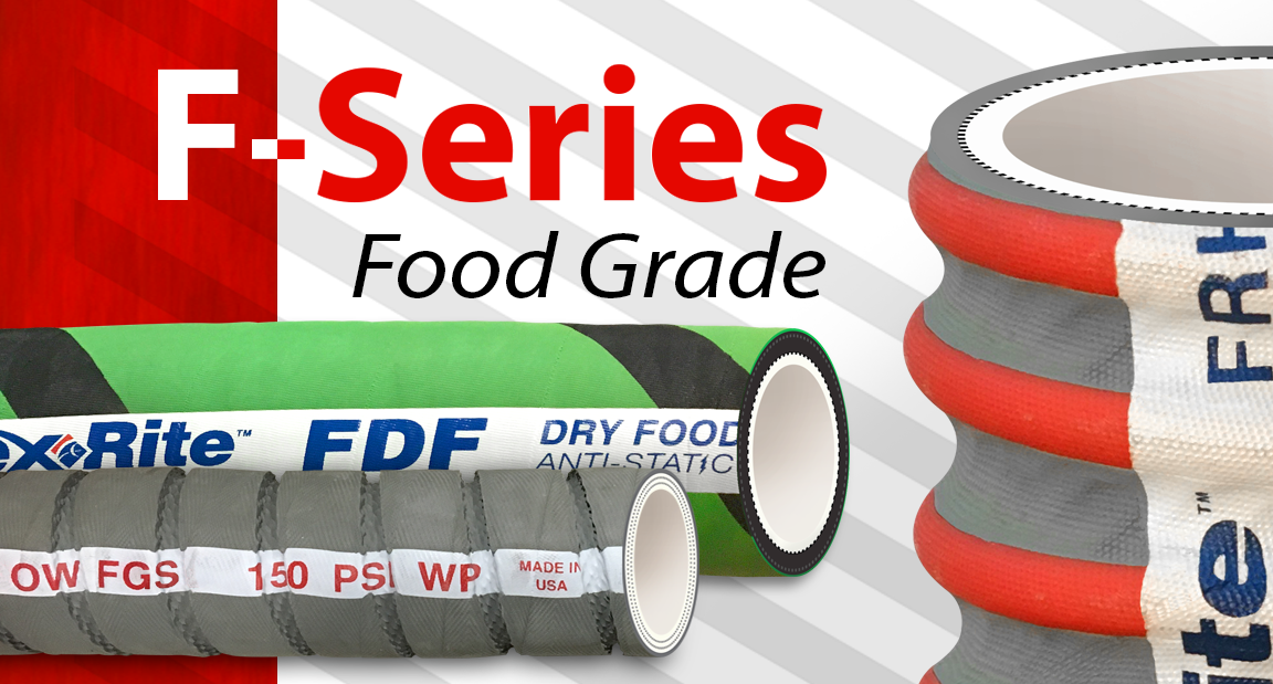 Ace Sanitary | F-Series Food-Grade Hose