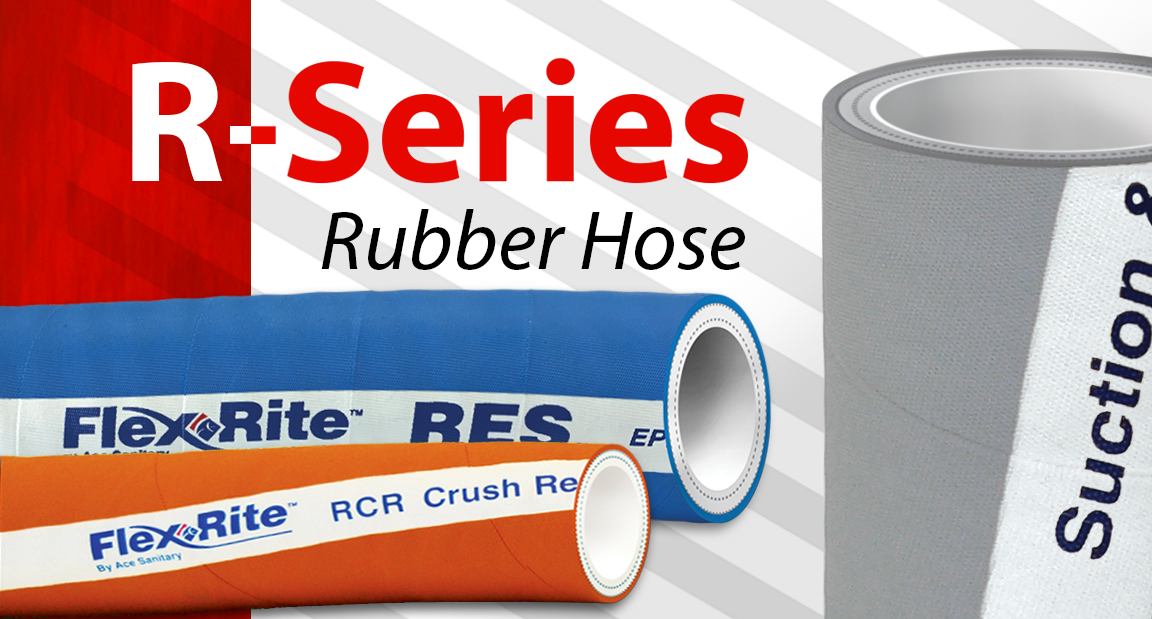 Ace Sanitary | R-Series Rubber Hose